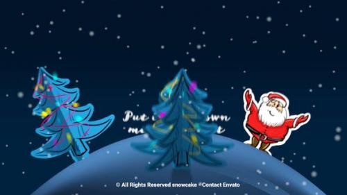 Videohive - Christmas Paper World