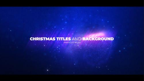 Videohive - Christmas Opener with Particles