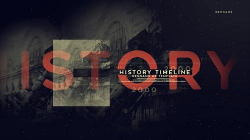 Videohive - History Timeline
