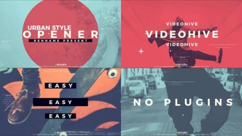 Videohive - Urban Style Opener