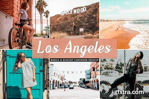 Los Angeles Mobile & Desktop Lightroom Presets