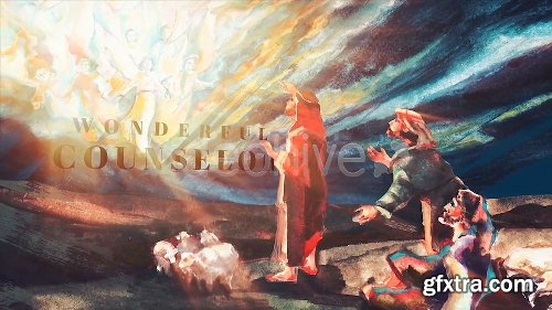 Videohive Christmas Nativity Story 23027276