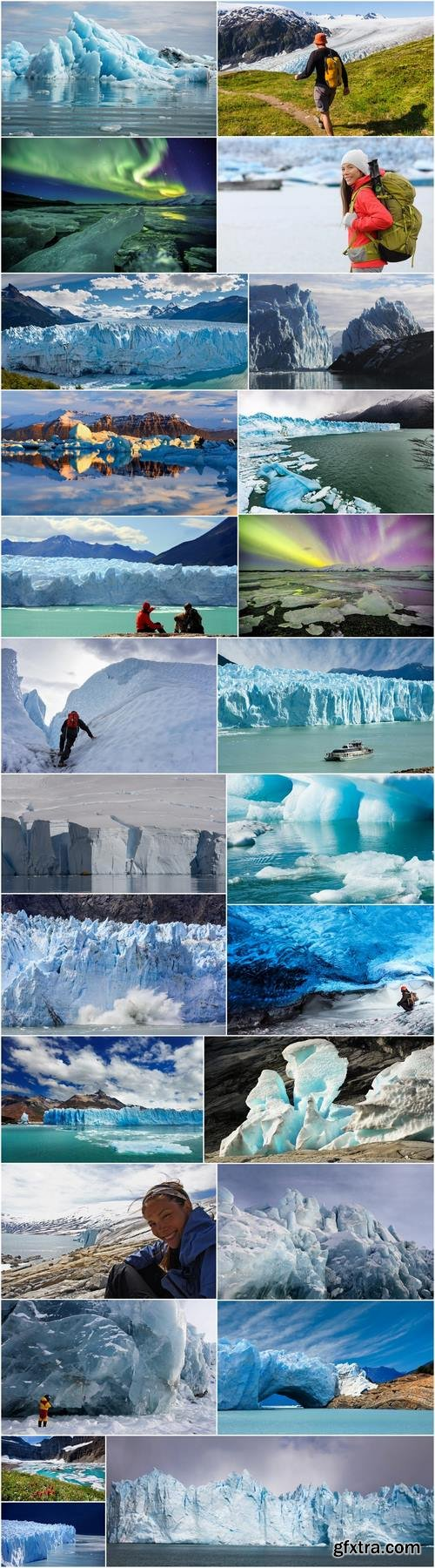 Glacier ice iceberg landscape mountain cold 25 HQ Jpeg