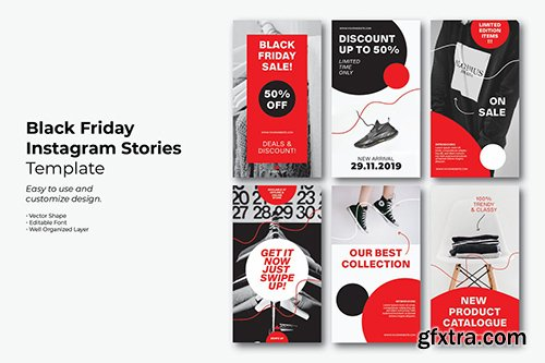 Black Friday Simple Instagram Story