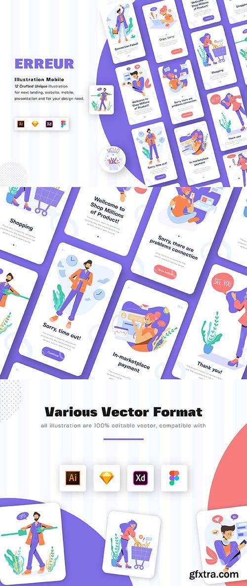 ERREUR - Illustration Mobile Kit