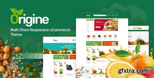 ThemeForest - Origine v1.0.0 - Organic Prestashop Theme - 25155186