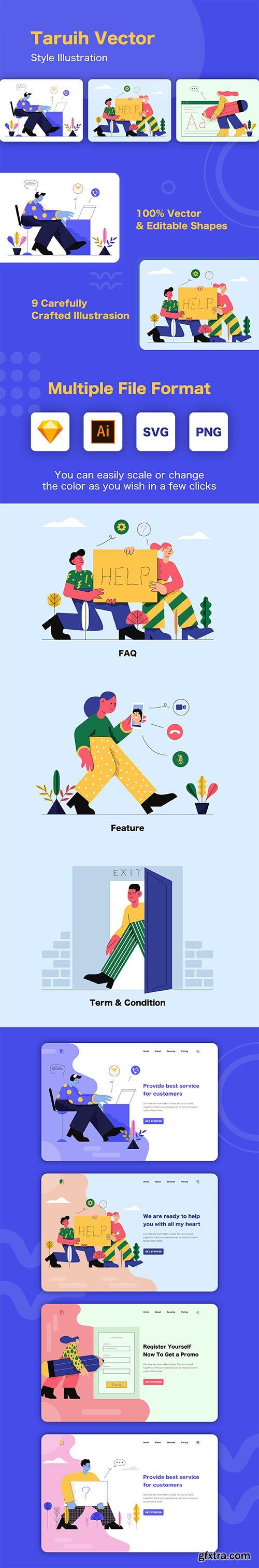 Taruih - Business Illustrations