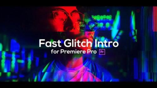 Videohive - Fast Glitch Intro for Premiere Pro