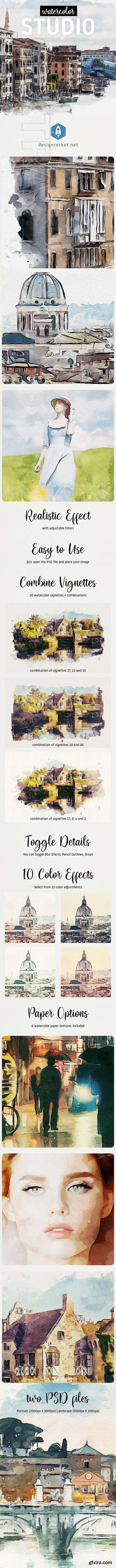 GraphicRiver - Watercolor Studio 25046502