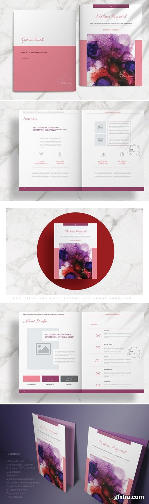 CM - Pink Fashion Proposal Layout 4340135
