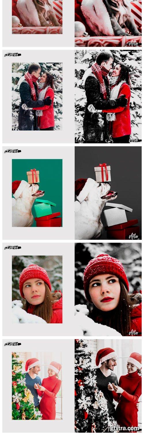 Christmas in Red Lightroom Preset, ACR 2150400