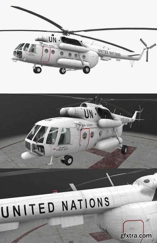 Mi-8MTV UN 3D model