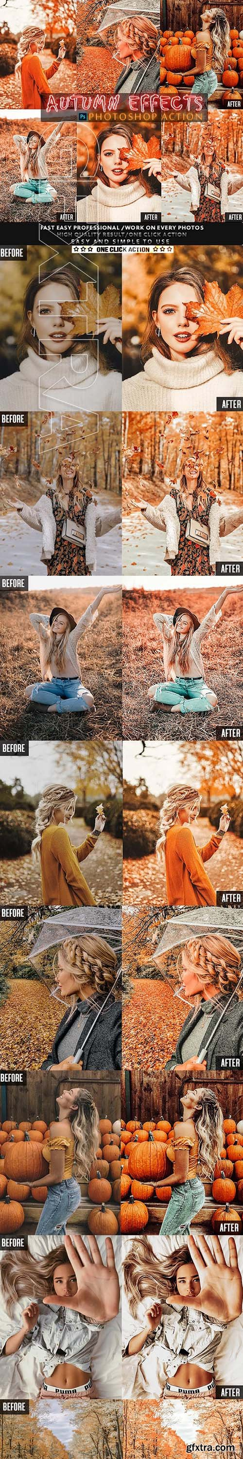 GraphicRiver - Autumn Photoshop Action 24778782