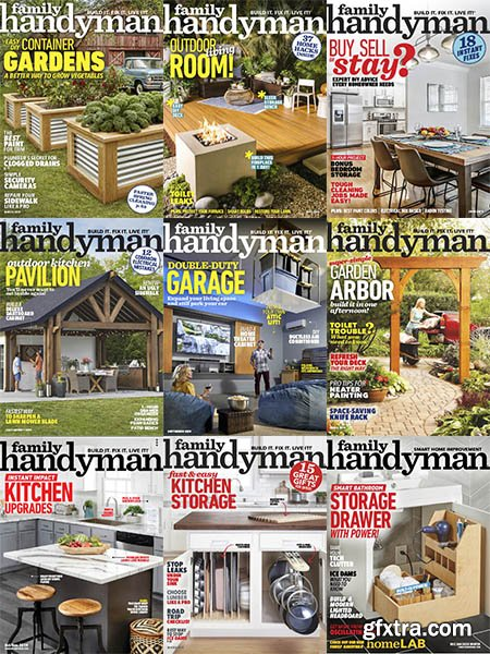 The Family Handyman - 2019 Full Year Issues Collection