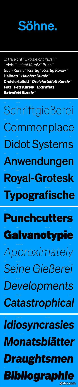 Sohne Font Family