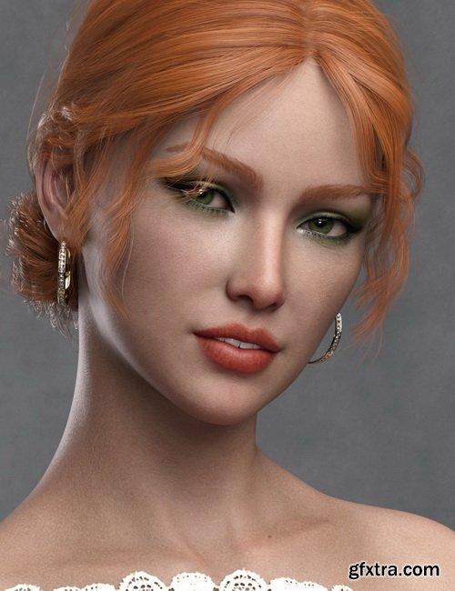 Daz3D - Katya HD for Genesis 8 Female