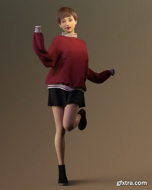 Daz3D - Linh for Genesis 8 Female