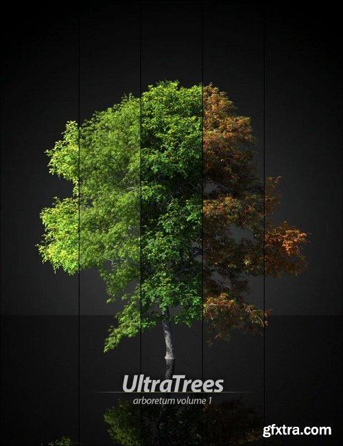 Daz3D - UltraTrees - Arboretum Volume 1
