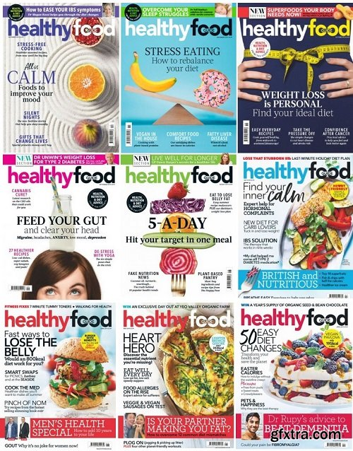 Healthy Food Guide UK - 2019 Full Year Issues Collection