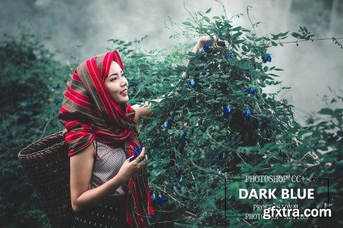 CreativeMarket - Dark Blue - PS Action 4257085