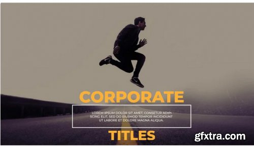 Corporate Titles Lower Thirds 308845