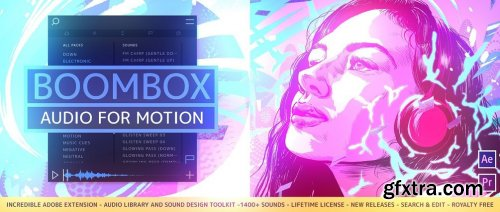 Mt. Mograph BOOMBOX v15 for After Effects & Premiere