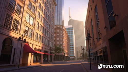 Exterior Rendering Strategies with Arnold and Maya