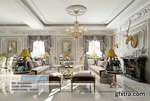 Modern Style Livingroom 327 (2019)