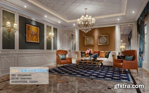 Modern Style Livingroom 325 (2019)