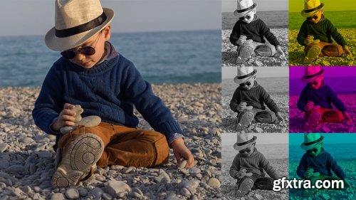 Adobe Photoshop: Trichromatic Image Channels by Andrey Zhuravlev