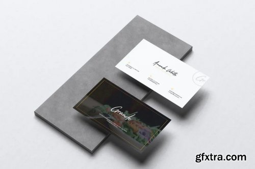 GRANDE Restaurant Flyer & Business Card