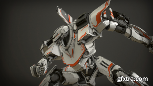 Z-Mech Robot Giant for Unreal Engine