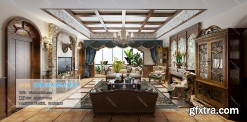 American Modern Style Livingroom 333 (2019)