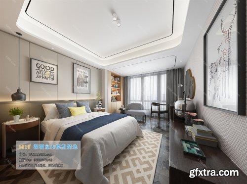 Modern Style Bedroom 221 (2019)