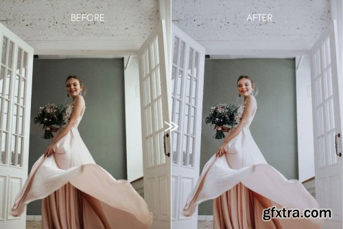 CreativeMarket - Bright CLEAN WHITES Mobile Presets 4269292
