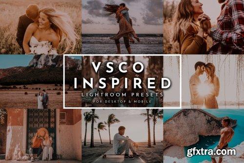 CreativeMarket - VSCO Inspired Lightroom Presets Pack 4269232