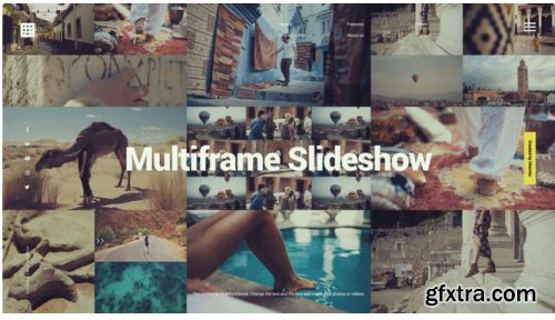 Creative Multiframe Slideshow Opener 311226