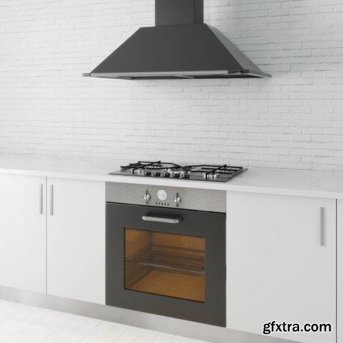 Kitchen Appliances 06 3d models