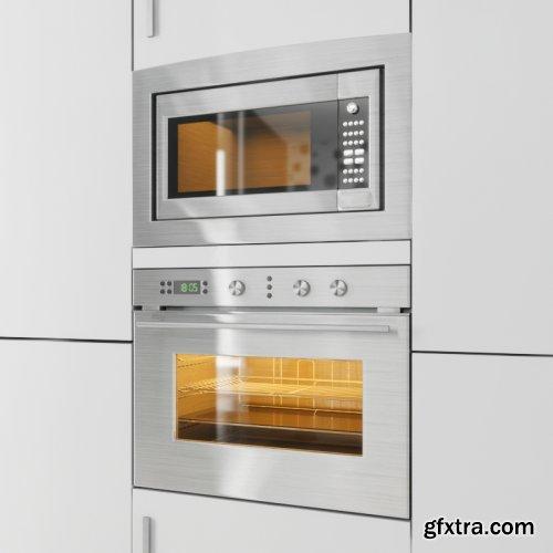 Kitchen Appliances 07 3d models