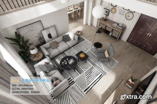 Modern Style Livingroom 342 (2019)
