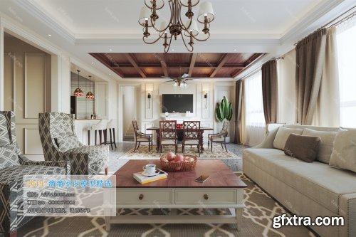 Modern Style Livingroom 343 (2019)