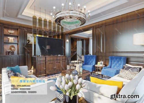 Modern Style Livingroom 344 (2019)