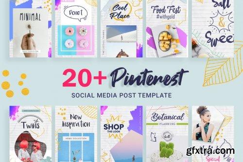 Pinterest Social Media Post Template