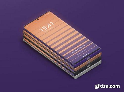 Smart Phone Mockup Note 10