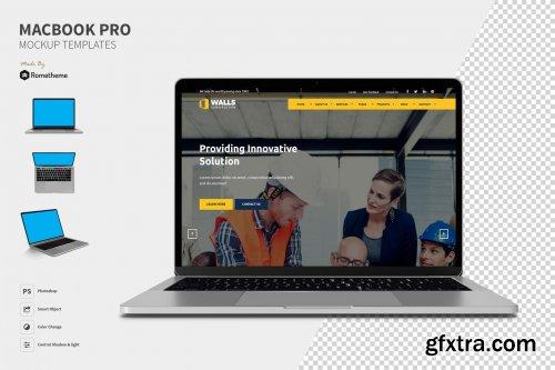Macbook Pro Mockups Set YR