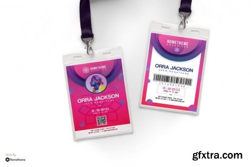 Burbank - Event Organizer id card HR