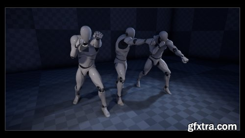 Unreal Engine - Punch! Animation Pack