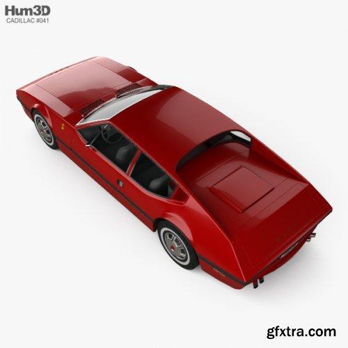 Cadillac NART 1970 3D model