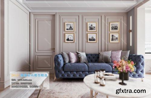 Modern Style Livingroom 345 (2019)