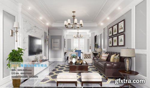 Modern Style Livingroom 346 (2019)